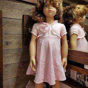 Pink Dress 2T Youngland Summer Dress